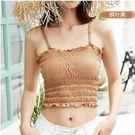 肩帶可調 彈性極佳 親膚材質 內附可拆胸墊 [18068-QF]