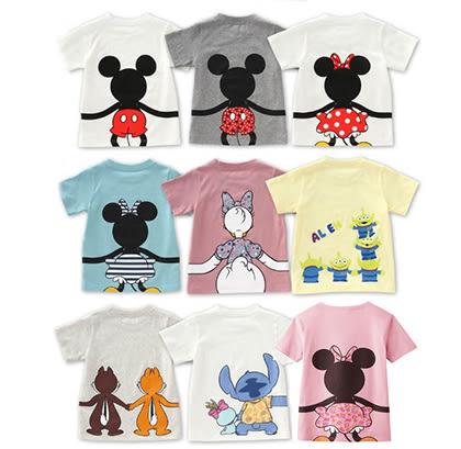 親子裝。迪士尼一家純棉短袖T恤家庭裝(寶寶款)*繪米熊童裝* (AK70404)
