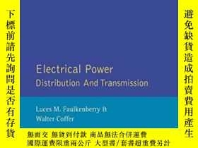 二手書博民逛書店Electrical罕見Power Distribution And Transmission-配電與輸電Y4