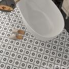 壁貼 衛生間防水地貼裝飾廚房防水瓷磚貼紙耐磨廁所地板貼自黏牆貼翻新 618購物節