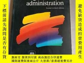 二手書博民逛書店co-operative罕見management and administration(合作管理與行政)Y15