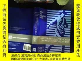二手書博民逛書店an罕見experiential approach to organization developmentY1