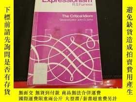 二手書博民逛書店Expressionism罕見(Critical Idiom)Y94537 Furness, R. S. Me