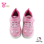 Hello kitty 凱蒂貓 中童 運動鞋 慢跑鞋 MIT 台灣製 H7851#粉紅◆OSOME奧森鞋業