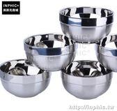 INPHIC-不鏽鋼碗雙層隔熱防燙嬰兒米飯碗泡麵碗餐具碗-直徑13cm_ExvO