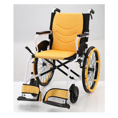 輪椅B款 鋁合金 輕量型 中輪 均佳 JW-X30-20