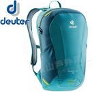 Deuter 3410118綠/深綠 Speed Lite 16L輕量透氣背包 健行包/雙肩後背包/自助旅行包/單車自行車