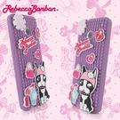 【Rebecca Bonbon】NEW HTC ONE 童趣創意拼圖保護套-甜心紫