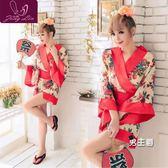 日系和服性感情趣睡衣冰絲古典日本和服睡裙睡袍cosplay日式制服內衣女夏