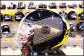 [中壢安信]ZEUS 瑞獅 ZS-202FB 202FB T43 方程式 黑黃 半罩 安全帽 高C/P值 內遮陽片