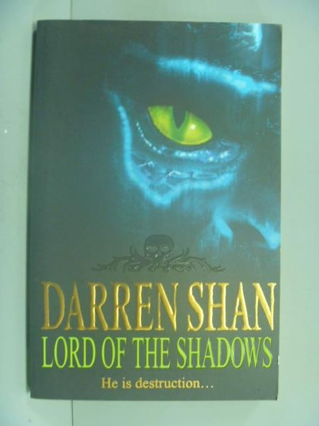 【書寶二手書T3/一般小說_GGL】Lord of the Shadows (Darren Shan Book 11)_
