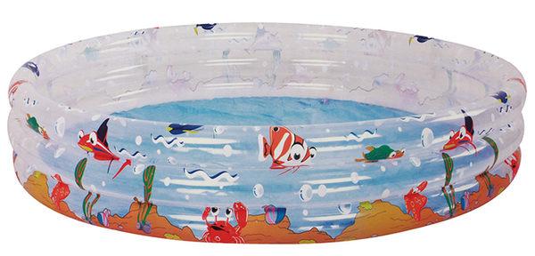 海洋動物三環水池/游泳池_170x53cm