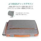 【日本代購】Inateck 電腦套lb1x04  橘灰 14 吋