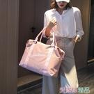 行李袋 韓版旅行包女手提輕便收納行李包短途大容量出門旅游外出差行李袋 愛麗絲