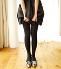 【韓風童品】打底褲襪  成人少女內搭連褲襪  立體抽條連褲襪 120D微壓顯瘦打底褲