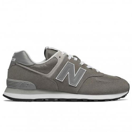 New Balance 574 男鞋 休閒 經典 寬楦 麂皮 網布 灰【運動世界】ML574EGG