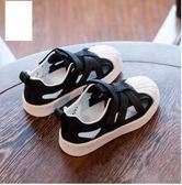 兒童透氣網鞋男童單網面板鞋夏季女童貝殼頭鏤空童鞋 全館免運