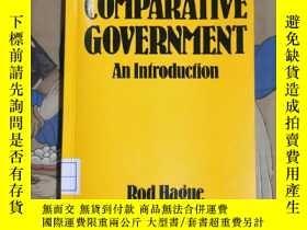 二手書博民逛書店COMPARATIVE罕見GOVERNMENT An IntroductionY94821 Rod Hague