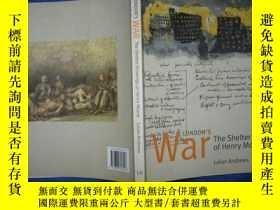 二手書博民逛書店Londons罕見War The Shelter Drawings of Henry MooreY11022