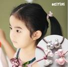 小熊髮圈 (3色一組) 橘魔法 Baby magic 現貨 髮圈 裝飾 兒童 女童