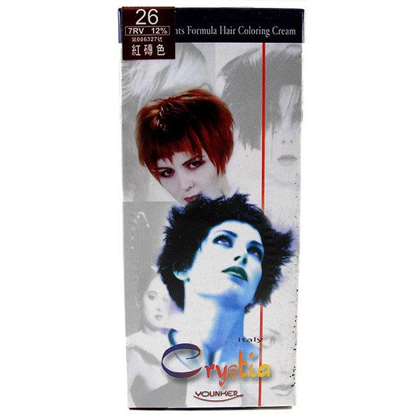 【產地義大利】美麗人生 草本護染髮劑 26號-紅磚色 [38870]