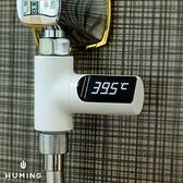 LED 可視水溫感應器 精準 感應式 溫度計 測水溫 浴室 淋浴 洗澡 測溫儀 電子溫度計 『無名』 Q06110