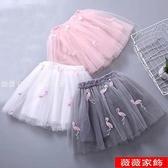 女童半身裙 女童半身裙紗裙2021夏裝新款兒童蓬蓬裙女孩公主裙百搭洋氣短裙子 薇薇