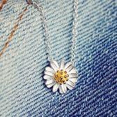 項鍊 925純銀吊墜-簡約花朵生日母親節禮物女飾品73gj56【時尚巴黎】