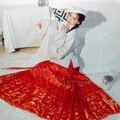 【織金馬面裙合集】花朝記漢服原創多色馬面裙春秋冬下裙女裝 歐韓時代