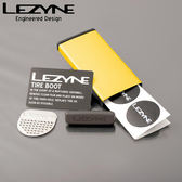 LEZYNE METAL KIT 自行車 彩色 鋁盒 補胎片組 (金)