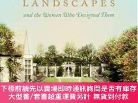 二手書博民逛書店Long罕見Island Landscapes And The Women Who Designed Them