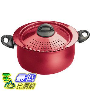 [106美國直購] Bialetti 7185 紅色 義大利麵專用濾水鍋 Trends Collection 5 Quart Pasta Pot