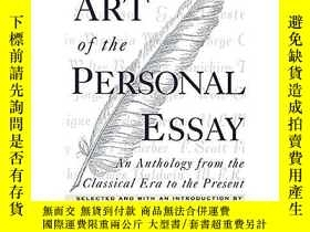 二手書博民逛書店The罕見Art of the Personal Essay: