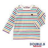 DOUBLE_B   Everyday經典條紋長袖T恤(多色)