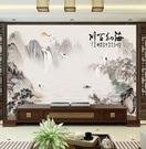 電視背景墻壁紙客廳壁畫...
