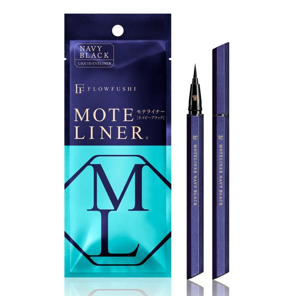 MOTELINER大和匠筆眼線液-湛藍色   日本FLOWFUSHI  新色  (熊野職人 升級)