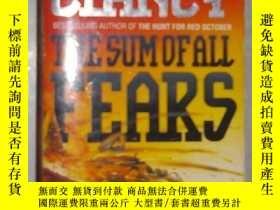 二手書博民逛書店英文原版罕見The Sum of All Fears by To
