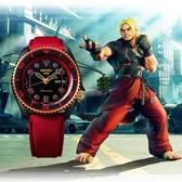 SEIKO 精工 5 Sports x 快打旋風 KEN 聯名限量機械錶(SRPF20K1)-42.5mm 4R36-08R0R(贈保護貼+帆布帶)