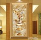 現代簡歐客廳進門口牆壁畫過道走廊掛畫高檔有框玄關裝飾畫單幅畫QM 依凡卡時尚