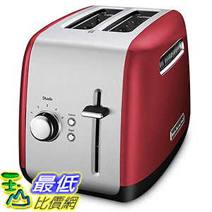 [106美國直購] KitchenAid KMT2115ER Toaster with Manual High-Lift Lever, Empire Red 烤麵包機