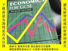 二手書博民逛書店ECONOMICS FOR罕見GCSE SECOND EDITI