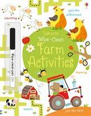 Wipe-Clean Farm Activities 可擦拭練習本:歡樂農場綜合練習本