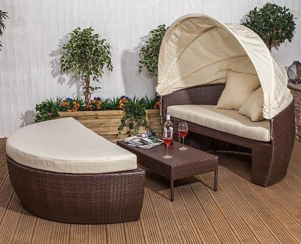 【南洋風休閒傢俱】設計單椅系列- 橢圓躺床 貝殼躺床 戶外躺床 仿藤躺床 塑料藤躺床