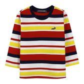 『小鱷魚童裝』薄款條紋T恤(02號~10號)534430