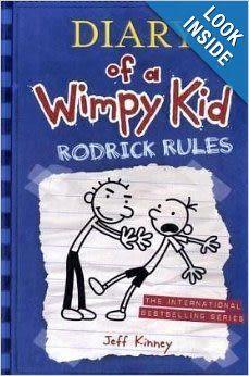 【麥克書店】DIARY OF A WIMPY KID RODRICK RULES #2
