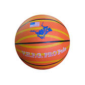 POLO彩色3號籃球【愛買】