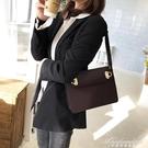 公文包女小眾女包包2020新款潮側背包斜背包復古質感高級感手提包 黛尼時尚精品
