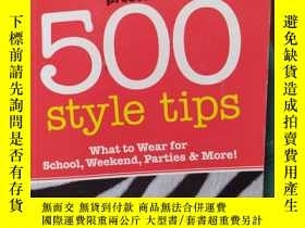 二手書博民逛書店英文原版罕見Seventeen Presents.... 500 style tipsY10980 hear
