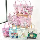 STAR BABY-可愛卡通PU款優質手提袋 小托特包 便當袋 午餐袋 防水材質 手提小包