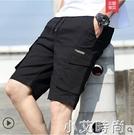 短褲男士夏季潮牌休閒運動五分中褲寬松薄款工裝外穿沙灘七分褲子 小艾新品